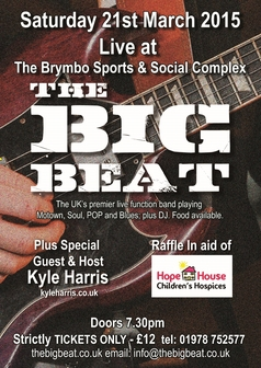 "An Evening with ""The Big Beat"" - Saturday 21st March 2015"